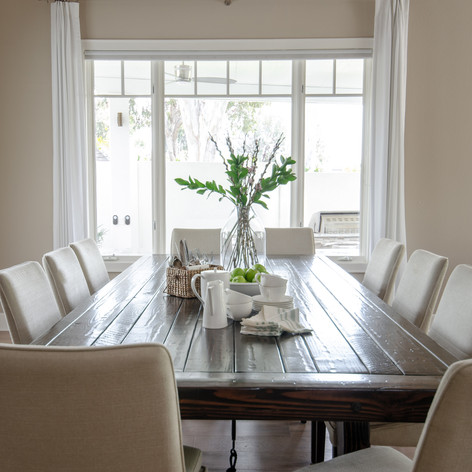 Transitional Dining Room