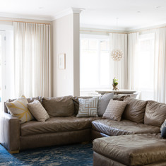 Modern Craftsman Family Room