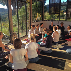 yoga retreat anne vandewalle
