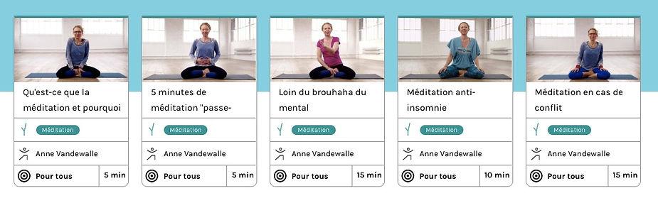 Inscrivez vous en ligne sur www.yogaplay.fr   téléchargez l app. YogaPlay  sur votre smartphone ou tablette pour pratiquer en toutes circonstances d76a1426c62