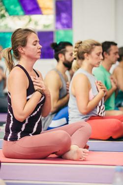eleves de yoga