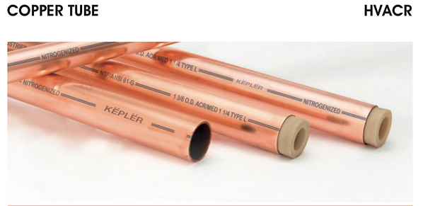 Copper Tube/Straight Length/Pipe