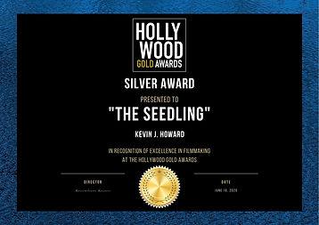 Copy of Hollywood Gold Awards Certificat