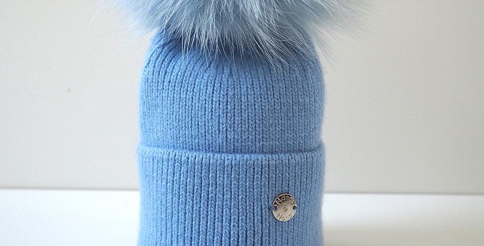 New Born Hat Pale Blue