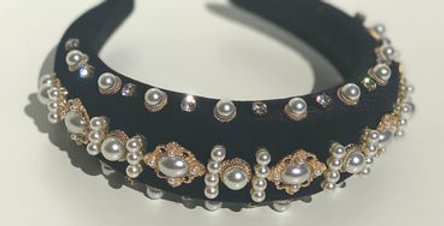 Penelope Headband Black