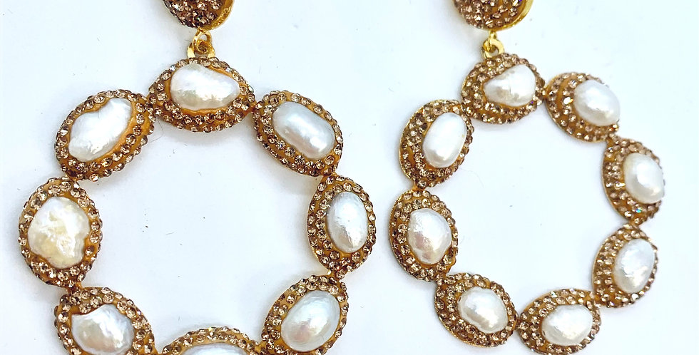 Athena's - Gold and Pearl