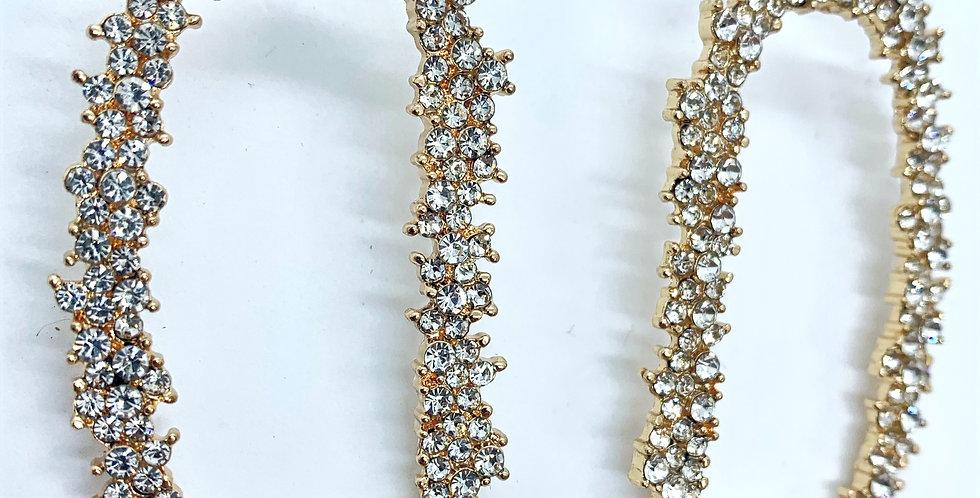 Glisten Earrings Silver