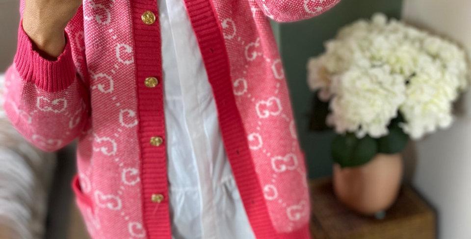 Florence Cardigan - Pink
