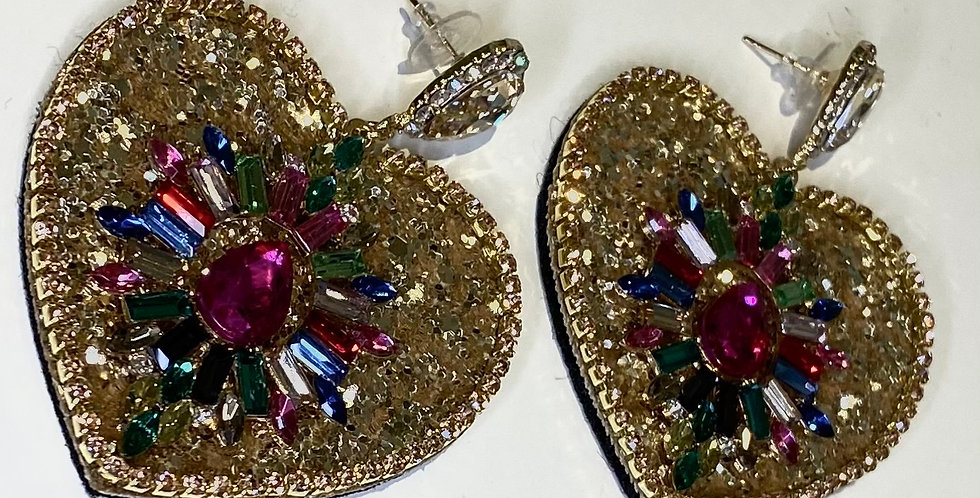 Desire Earrings Gold