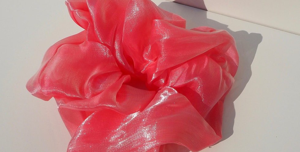 Oversized Scrunchie - Pink