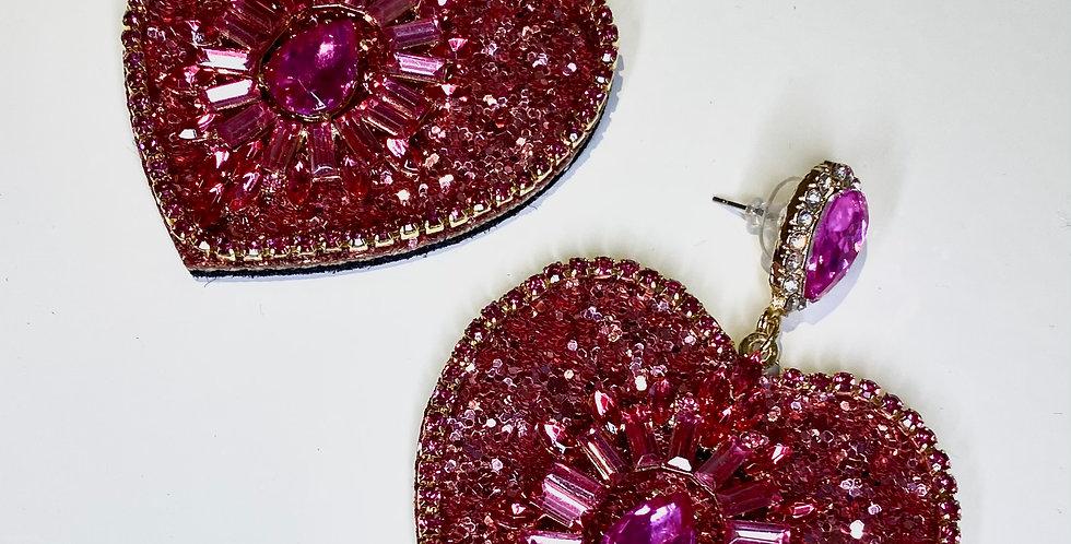Desire Earrings Pink