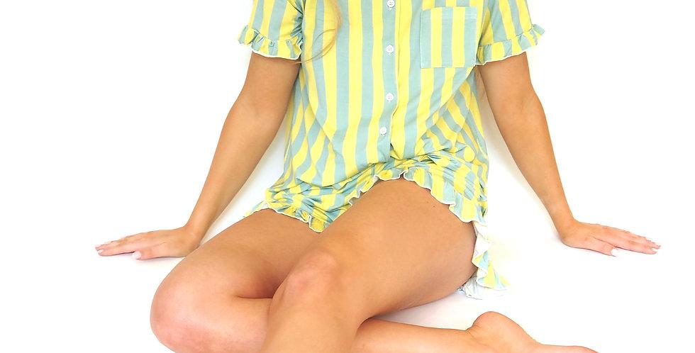 Striped Delights Short Pyjamas