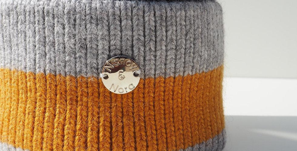 Kids Stripe Navy Mix Single Hat