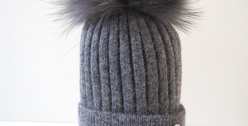 Adults Classic Single Hat Dark Grey