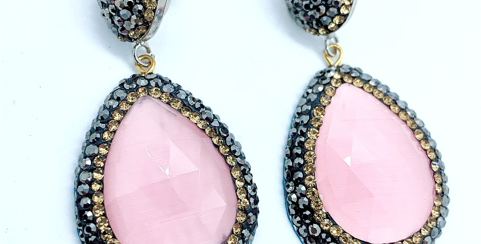 Fiji Earrings - Pink