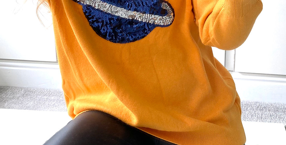 Out of this World Jumper Yellow