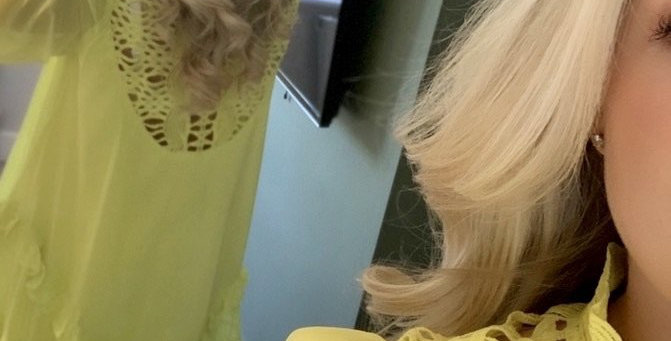 Capri Dress Yellow
