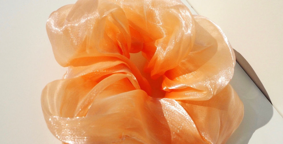 Oversized Scrunchie - Peach