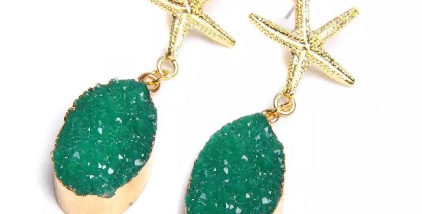 Nammos Earrings- Green
