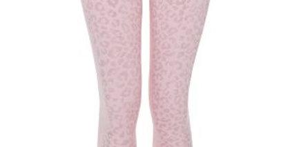 Rose Gold Leopard Leggings -  Yoga Leggs