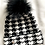 Thumbnail: Houndstooth Single Pom Pom Hat