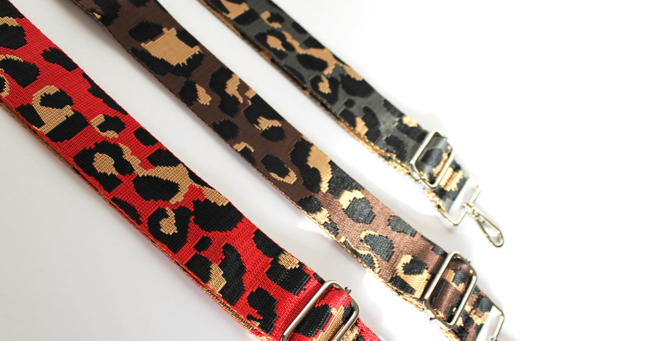 Leopard Bag Strap for ROKA Bag