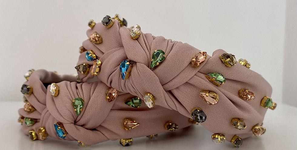 Jewel Headband - Pink
