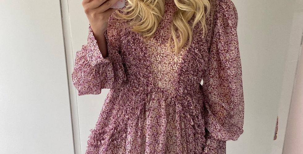 Palma Violet Dress
