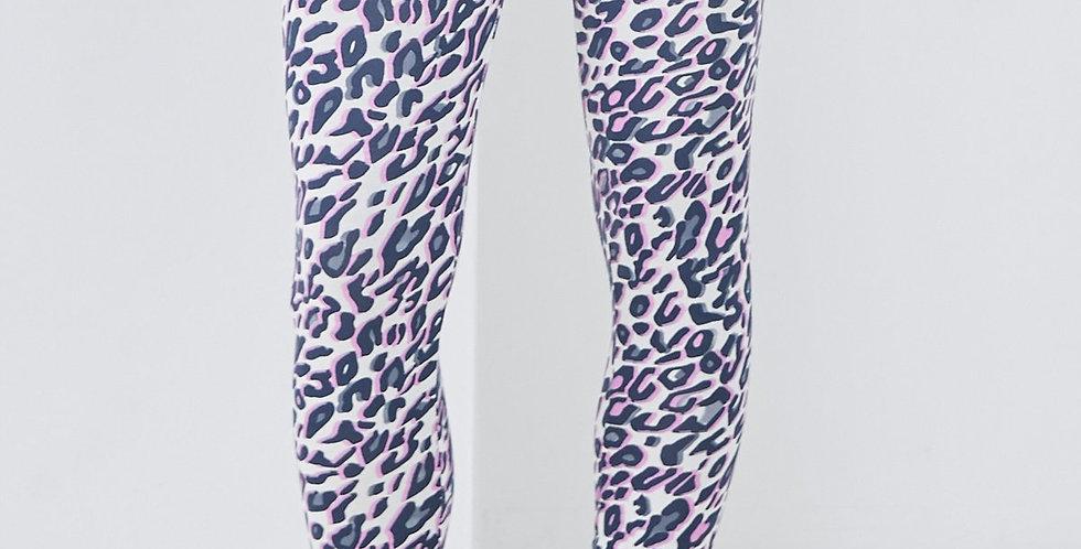 Sundae Tee Liv Animal Print Leggings Cream