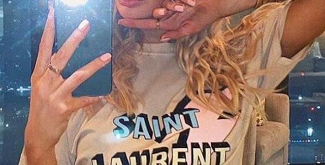 Saint T-shirt  Nude