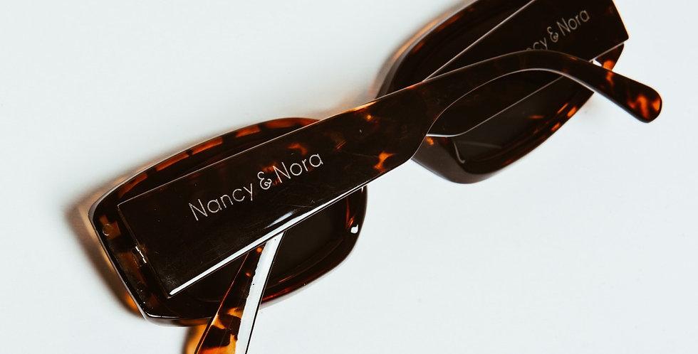 Lissa Sunglasses Tortoise Shell with Black Lens