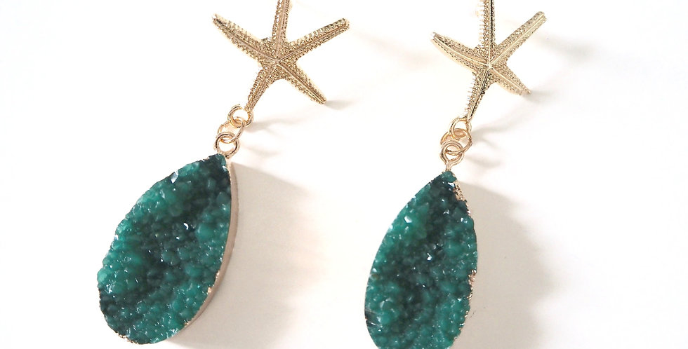 Nammos Earrings - Green