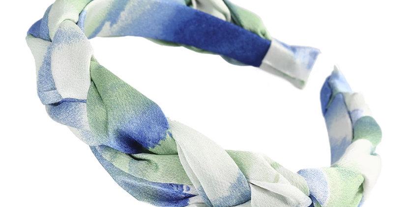 Tie Dye Pleated Headband