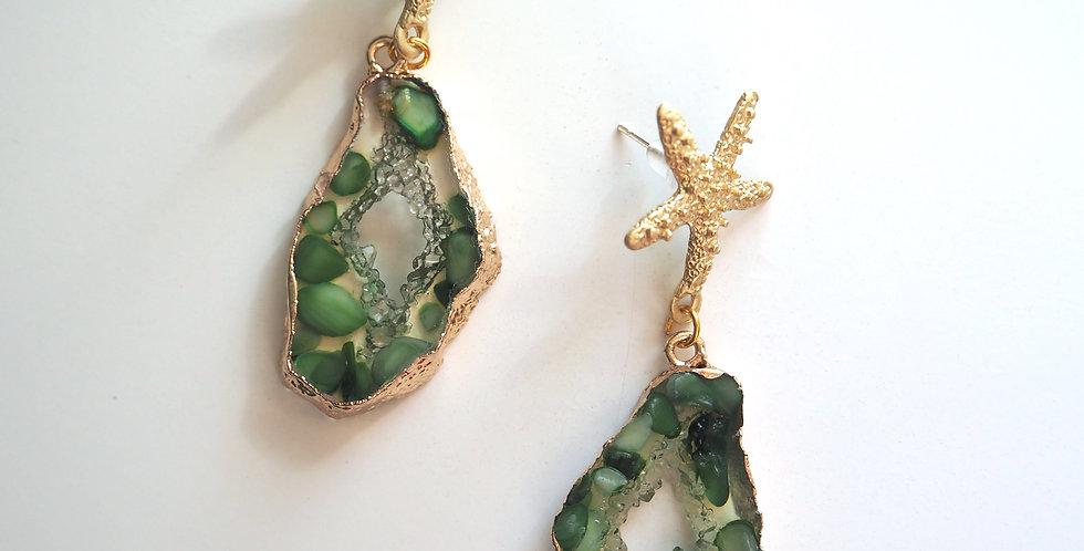 New Nammos Earrings  Green