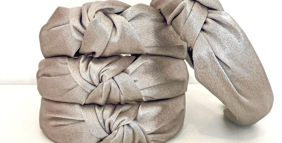 Knot Headband - Silver