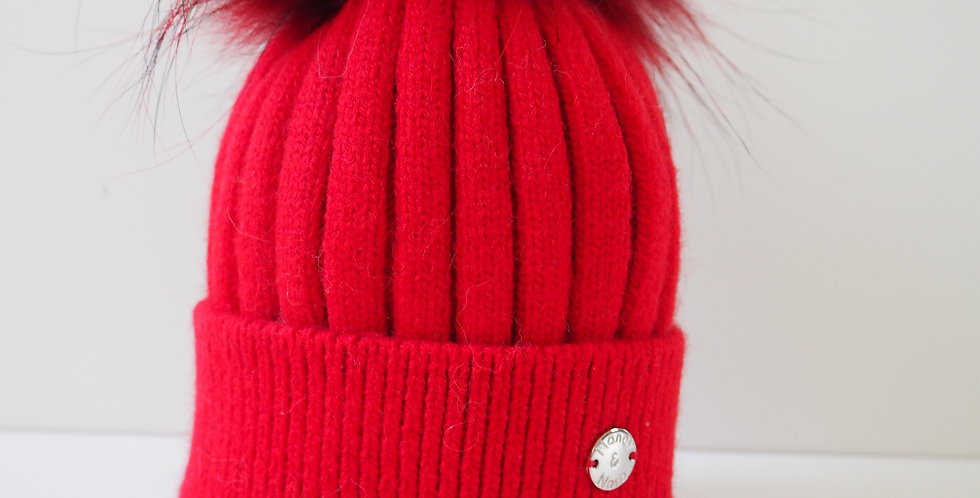 Kids Classic Single Hat Red