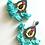 Thumbnail: Fiesta Earrings Blue