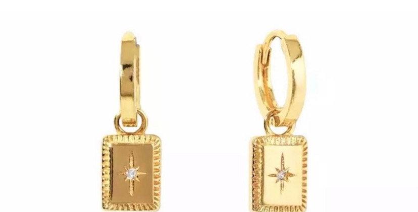 Oh Darling Earrings - Gold