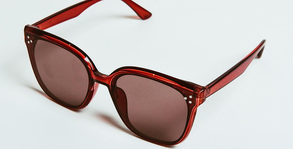 Claudie Sunglasses Deep Red