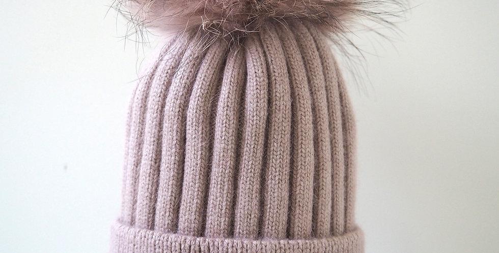 Kids Classic Single Hat Blush