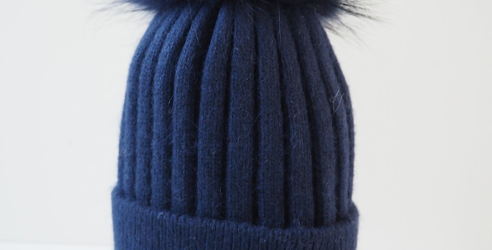 Adults Classic Single Hat Navy
