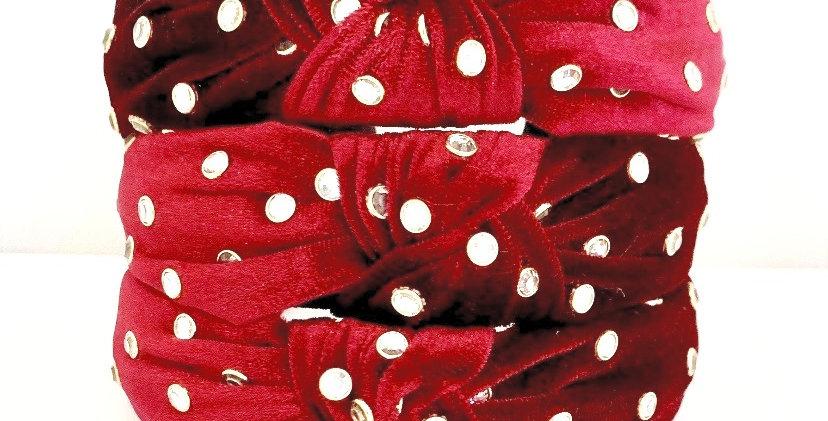Bit of Bling- Velvet Edition Red