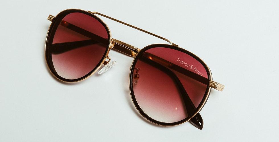 Hana Sunglasses Gold Detail