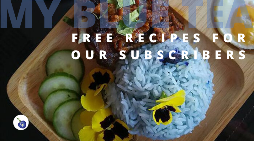Subscribe to My Blue Tea Recipes