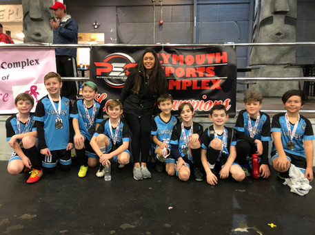 Cordage SC Boys Champions