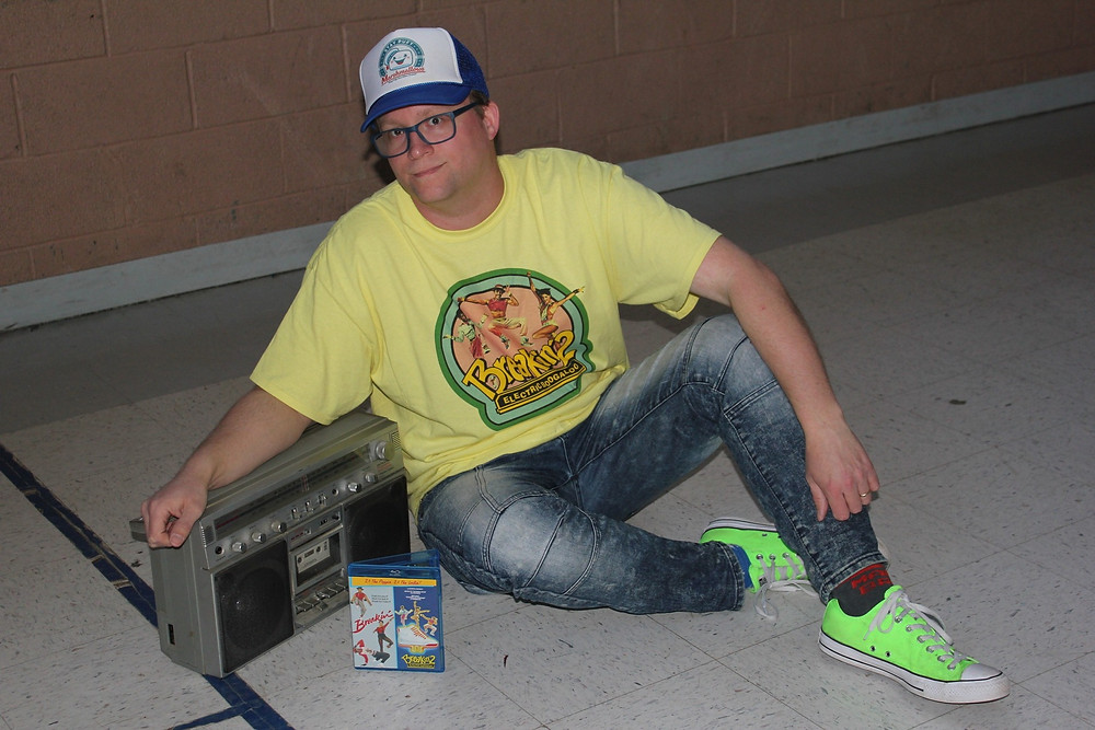 Breakin' 2 Electric Boogaloo t-shirt, ghettoblaster