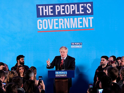 MESSAGE OF SUPPORT TO THE UK PRIME MINISTER, BORIS JOHNSON