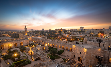 Seth Aronstam Israel - Jerusalem The Tow
