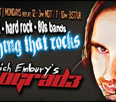 Rich Embury's R3TROGRAD3: NEW & COMING SOON Hard Rock & Metal