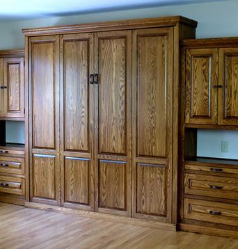 EZ-Rest Murphy Bedz- 931-254-3696-Traditional-oak-with-sides